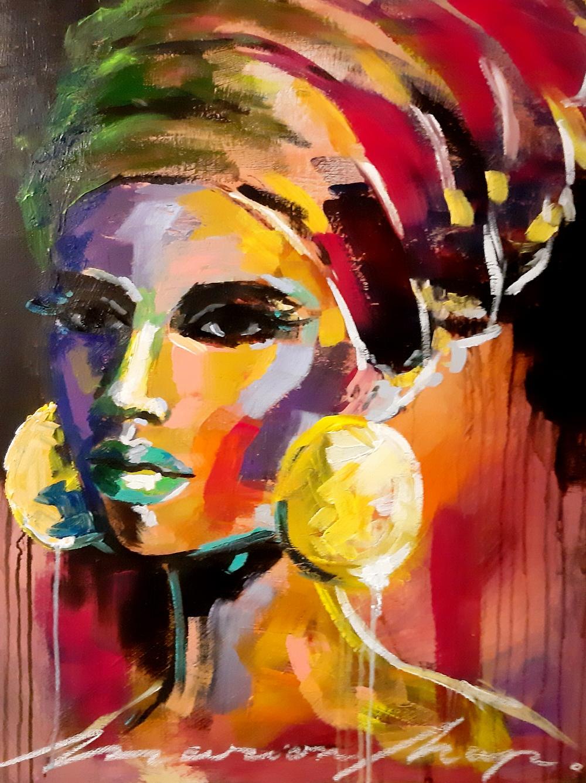 Marion Nap Abstract face